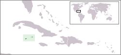 开曼群岛地图